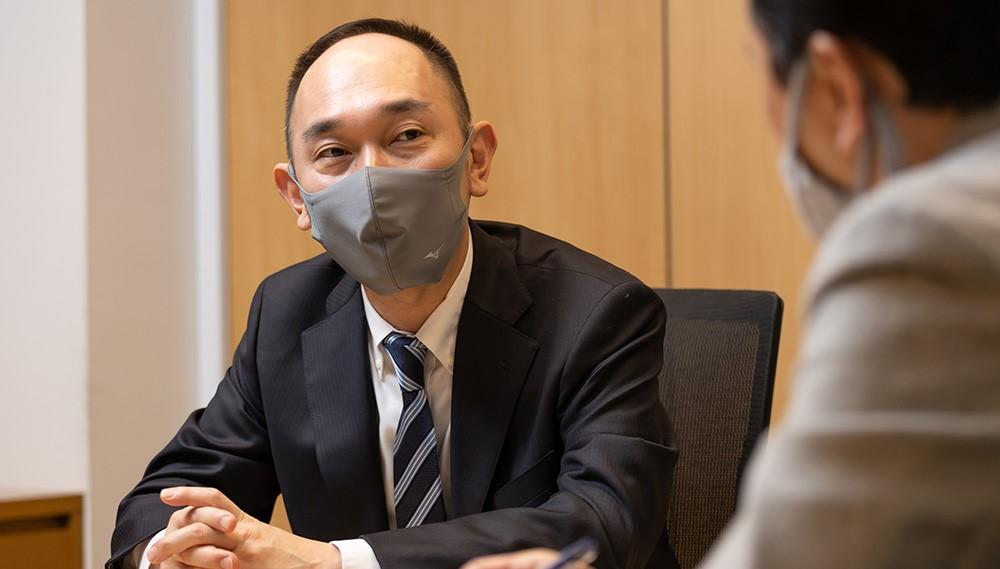 対談風景 観堂氏