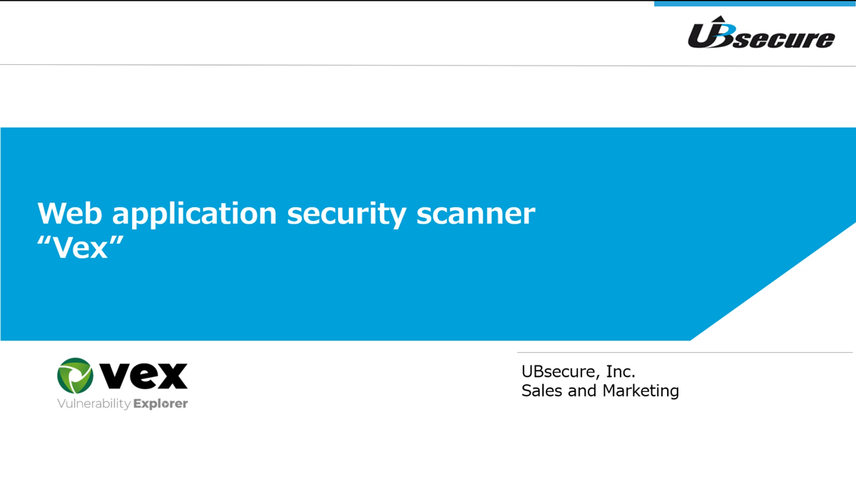 """The scanning tool developed by a web application vulnerability audit servicer with the """"Made in Japan"""" quality."""